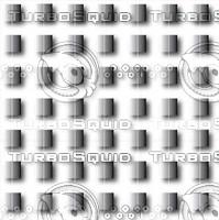 Metal squares in grid.ai