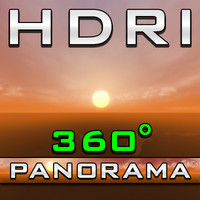 HDRI Panorama - Orange Haze