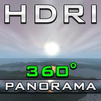 HDRI Panorama - Pastel Coast
