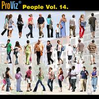 3dRender Pro-Viz People Vol. 14