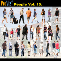 3dRender Pro-Viz People Vol. 15
