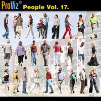 3dRender Pro-Viz People Vol. 17