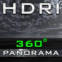 HDRI Panorama - Rainy