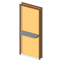 Single-Flush-Counter door