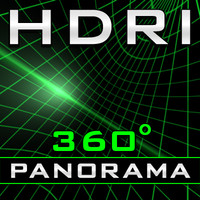 HDRI Panorama - The Grid