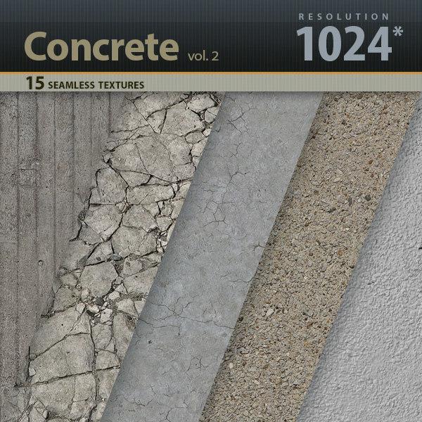 Concrete Textures vol.2