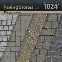 Paving Stones Textures 1024x1024 vol.1
