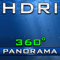 HDRI Panorama - Underwater