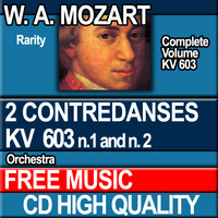 W.A. MOZART - 2 CONTREDANSES KV 603