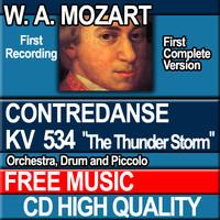 W.A. MOZART - CONTREDANSE KV 534 The Thunder Storm