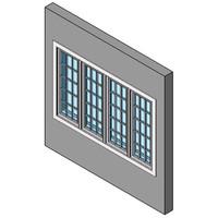 Casement Window, Multiple