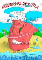 horoscope cartoon character  - aquarius