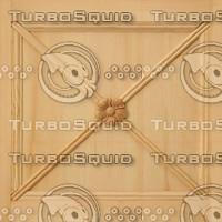 X Tileable Pine Panel Texture