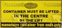 Dumpster Sign Texture