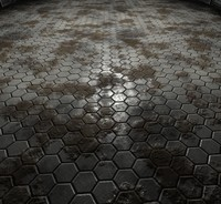 Hexagonal Tiles Grunge Edition