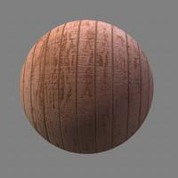 wood panel maya material