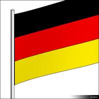 Flag-Germany-Pole-00302se