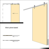Door Sliding Single 00631se
