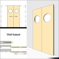Door Sliding Double 00632se