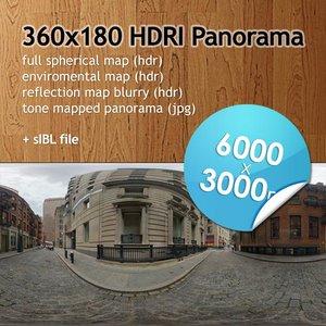 Hi Res Spherical HDRI map [P020] [6000x3000px]