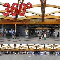 Airport Terminal - 360° panorama