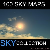 100 Skymaps