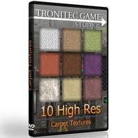 10 High Res Carpet Textures