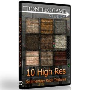10 High Res Sedimentary Rock Textures