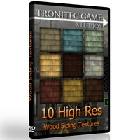 10 High Res Wood Siding Textures