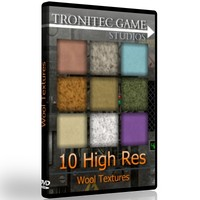 10 High Res Wool Textures