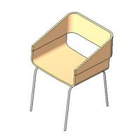 1937 - Zaphiro Chair