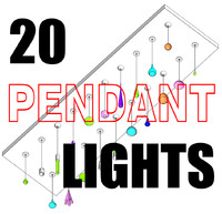 20 Pendant Light Collection