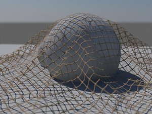 Knotted Net 3D model