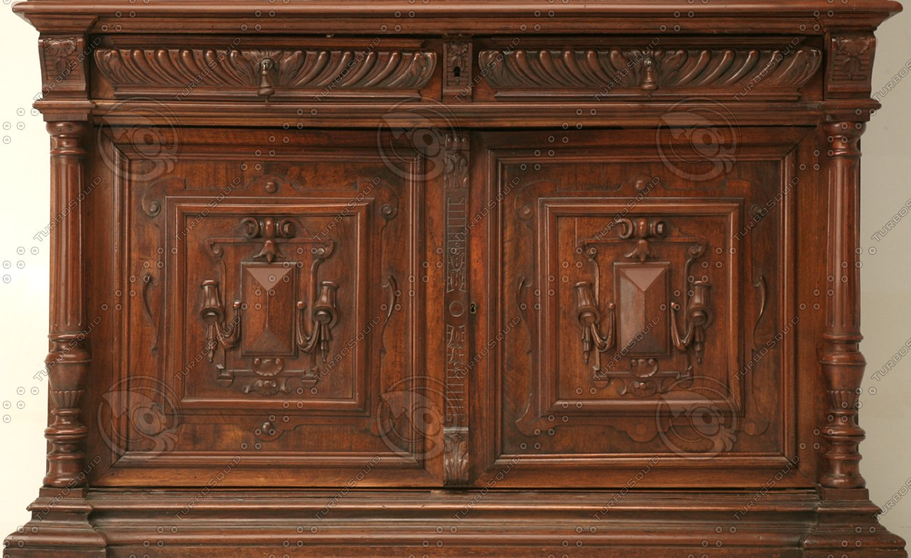 Texture Png Carved Cabinet Wood