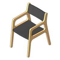 Chair - Deer - Dining Chair