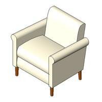 Chair - Unknown Designer - Trinity Chair