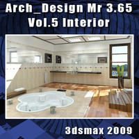 Arch e Design Collection Vol.5 Mental ray 3.65