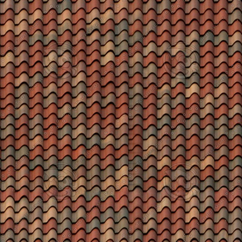 Texture Jpg Roof Polychrome Vintage