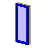 Ext Single-In Aluminum-1Lite-Architrave (NZ)