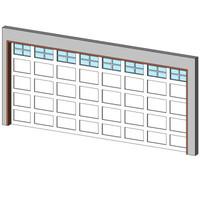 Garage-Dbl + 2x2 Grid