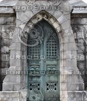 Bronze Crypt Door