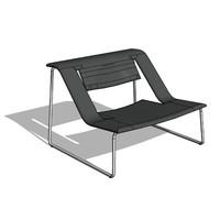 Haga Armchair (upholstered)