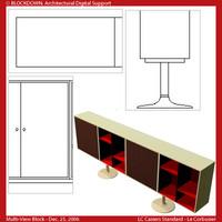 LC Casiers Standard Multi-View Block