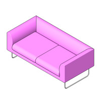 Lowboy Sofa - Two Seater Sofa