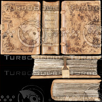 Leather Medieval Book Texture