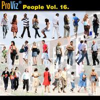3dRender Pro-Viz People Vol. 16