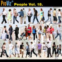 3dRender Pro-Viz People Vol. 18
