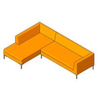 Sofa - Bernard - Sectional Sofa