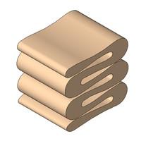 Stool - Gehry - Wiggle Stool