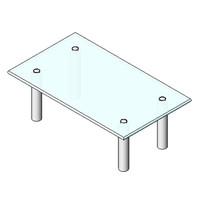 Table - Boss Design - Boxer Coffee Table - Rectangular